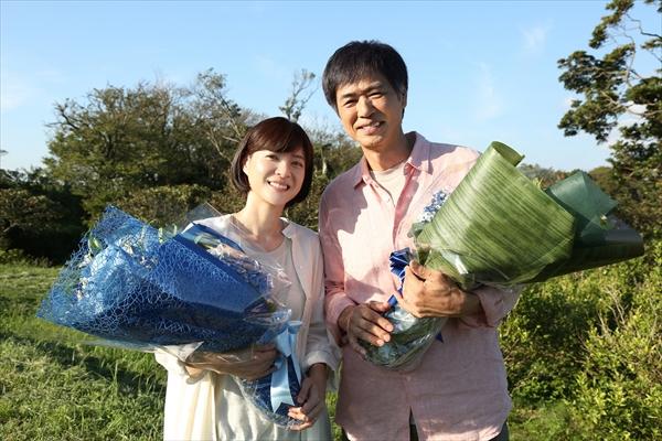『監察医 朝顔』上野樹里、時任三郎が撮了「朝顔をお手本にこれからも頑張りたい」