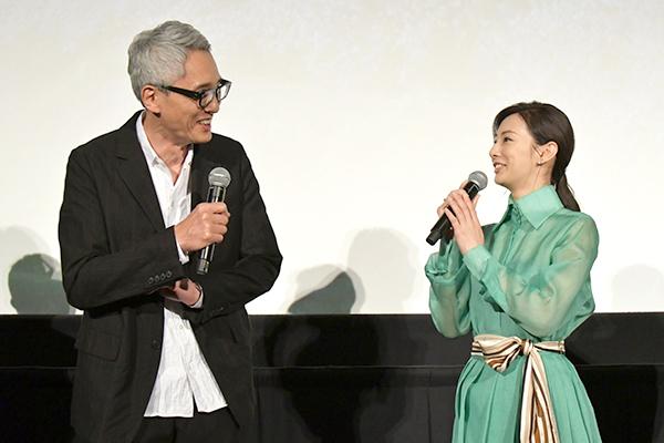映画「ヒキタさん!ご懐妊ですよ」公開記念舞台あいさつ