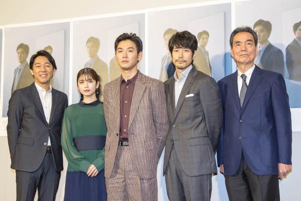 松田龍平、記者役に「大変な仕事、親近感が湧いた」『歪んだ波紋』11・3スタート
