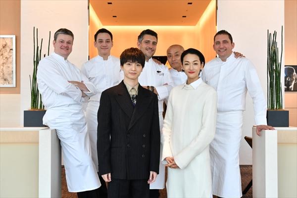 玉森裕太&冨永愛が美食の饗宴で特別料理を堪能!