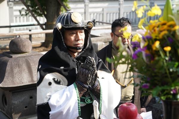 映画「決算!忠臣蔵」泉岳寺大ヒット祈願イベント