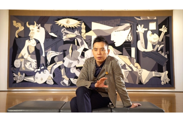 爆笑問題・太田光が人生を変えたピカソ作品と対峙『新美の巨人たち』