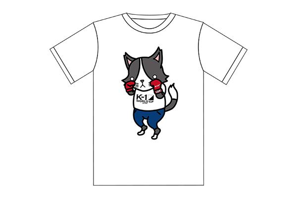 猫ひた&K-1コラボTシャツ