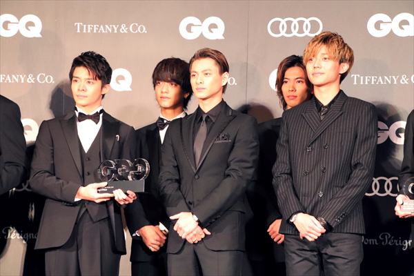 King & Princeがジャニーズグループ初受賞!『GQ MEN OF THE YEAR 2019』