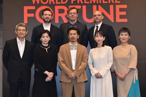 森田剛、膨大な量のせりふに「受験勉強みたい」舞台「FORTUNE」1・13開演!