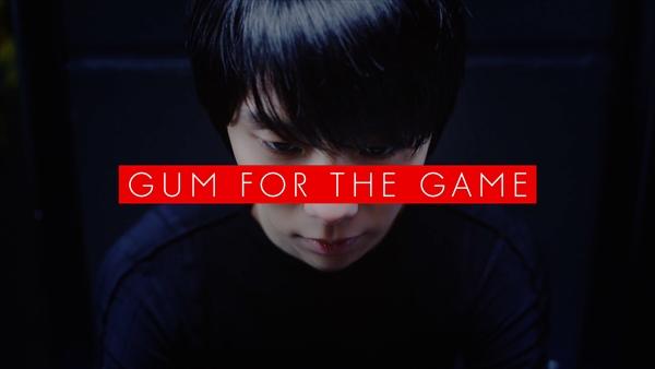 <p>ロッテ「GUM FOR THE GAME」新CM</p>