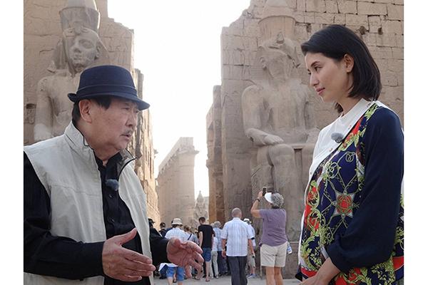 橋本マナミ「吉村先生と宝探しをしているようでワクワク」『真相解明!ピラミッドの正体』12・8放送