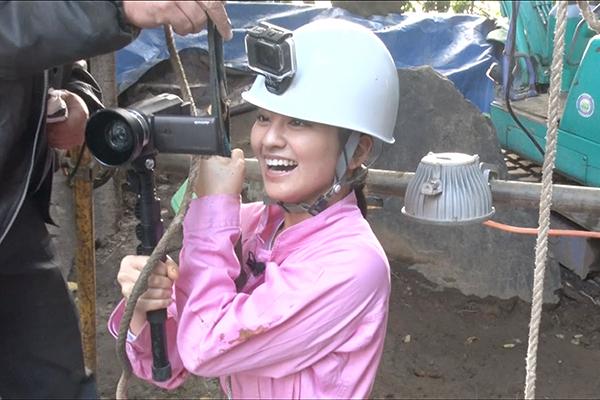 岡田結実が新宿で掘る!オードリー春日は中野で掘る!『新宿に井戸を掘る!』12・11放送