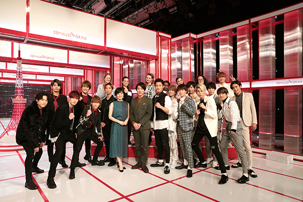 SixTONESとSnow Manが『SONGS OF TOKYO』出演!先輩・村上信五がメンバーの個性を引き出す