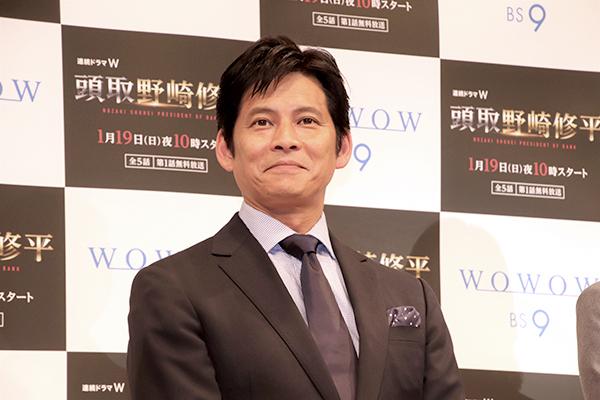 『連続ドラマW 頭取 野崎修平』