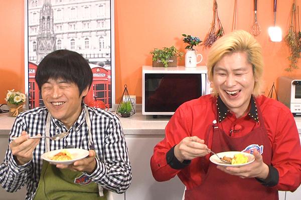 """バカリズム&中丸雄一&カズレーザー絶賛!""""バイトし過ぎ芸人""""が料理対決"""
