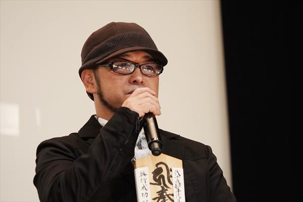 <p>映画「犬鳴村」初日舞台あいさつ</p>