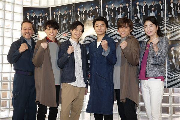 Kis-My-Ft2横尾渉、宮田俊哉、二階堂高嗣、千賀健永の主演舞台が開幕
