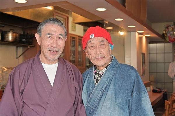 「状況劇場」のレジェンド・麿赤兒と大久保鷹が50年ぶり共演!『パパがも一度恋をした』で実現