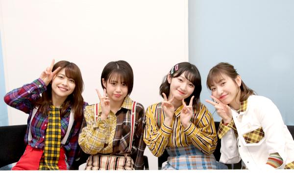 Juice=Juice金澤朋子×高木紗友希×宮本佳林×植村あかりインタビュー