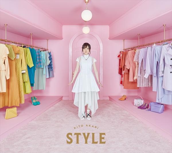 鬼頭明里1stアルバム「STYLE」初回盤