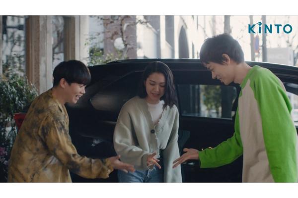 菅田将暉、二階堂ふみ、矢本悠馬が3人でドライブ!「キントーク」新CMウェブ限定動画公開中