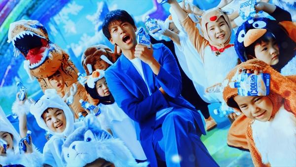 竹内涼真出演クーリッシュ新CM『2020年もすごい冷たい』篇