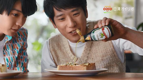 日清オイリオ「鮮度のオイルシリーズ」新CM