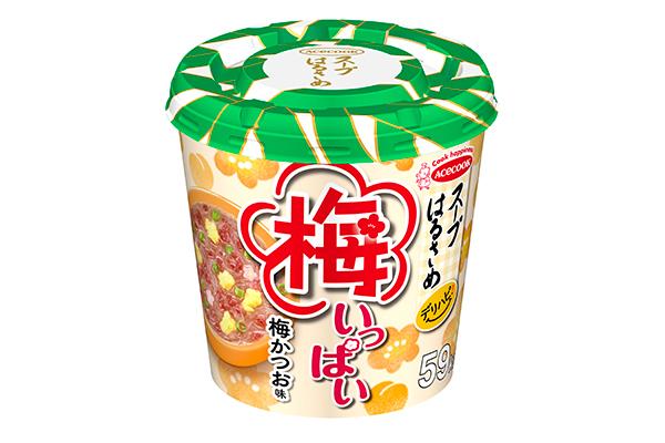 エースコック「スープはるさめ デリハピ!梅いっぱい」