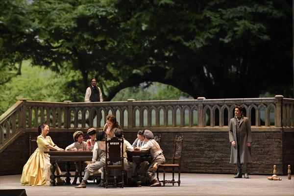 新国立劇場『ウェルテル』より 撮影:寺司正彦