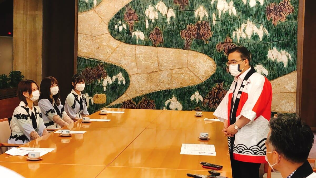 SKE48が「LOVEあいちキャンペーン」PRキャラクターに就任