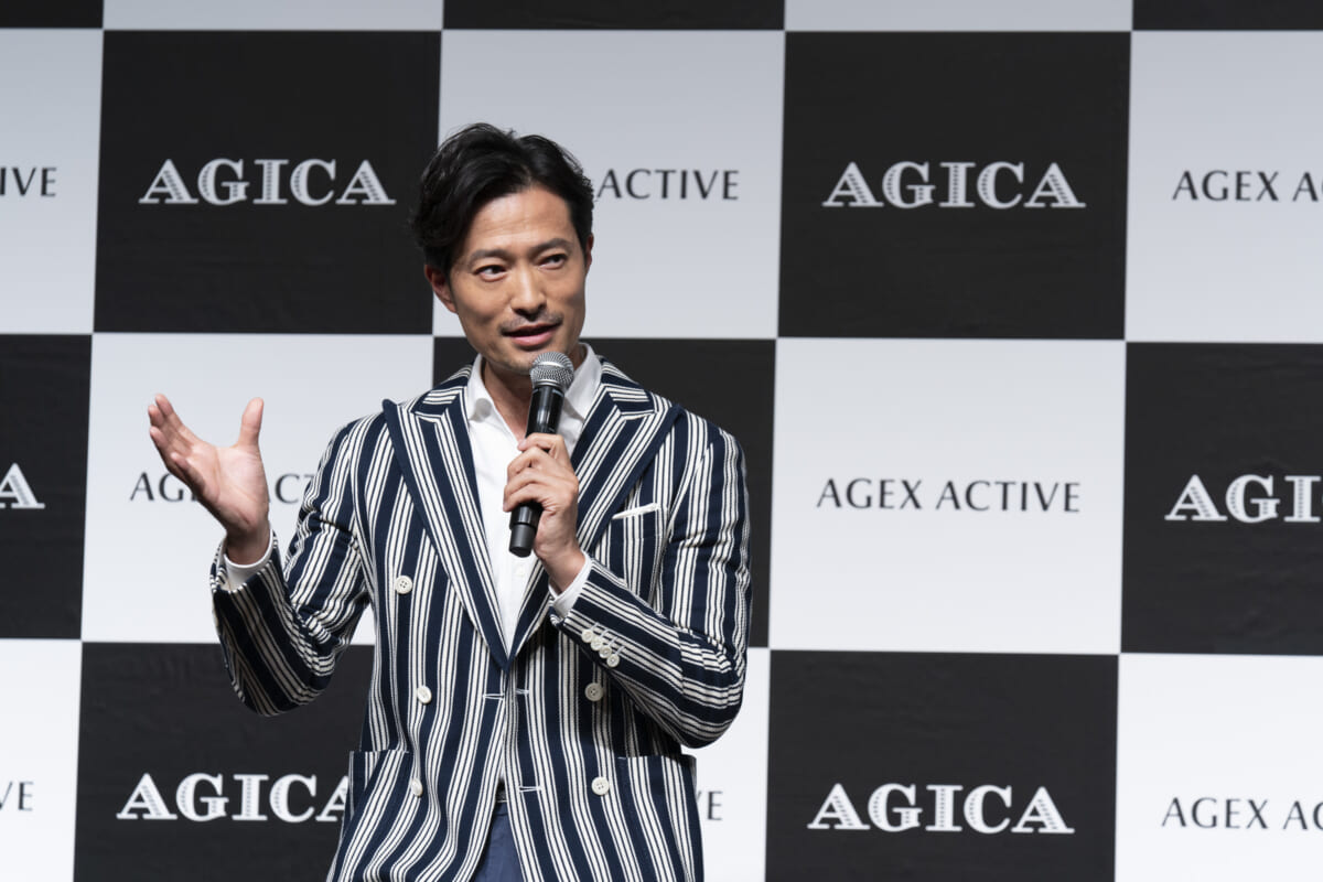 「AGICA(アジカ)」新商品発表会