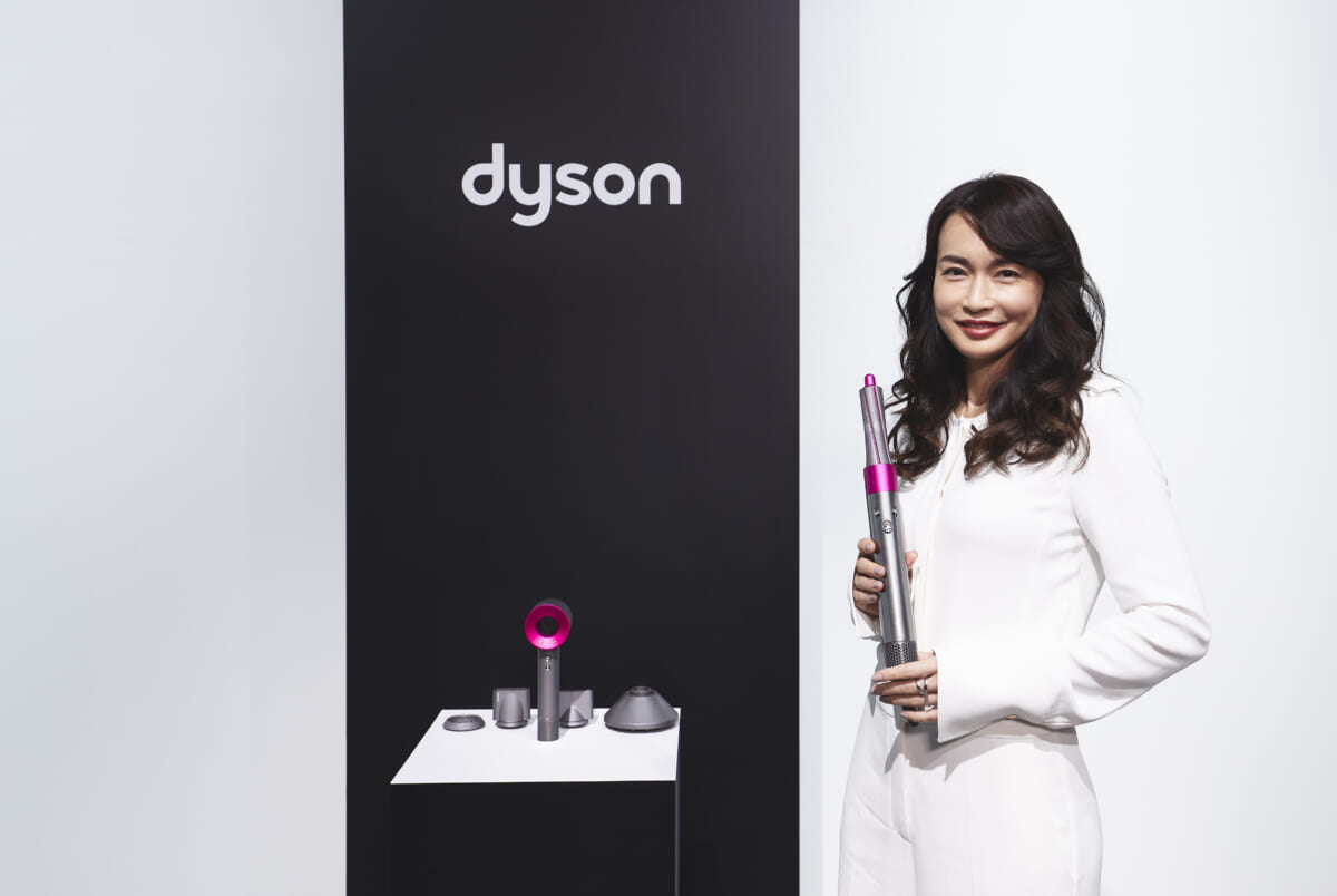 長谷川京子が日本のダイソンヘアビューティーアイコンに「美髪の秘訣は健康的な生活」
