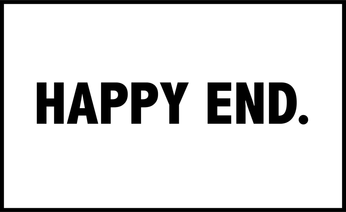 「HAPPY END.」