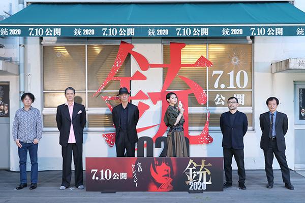 日南響子×佐藤浩市×加藤雅也「銃 2020」クレイジーっぷりを暴露!完成発表記者会見