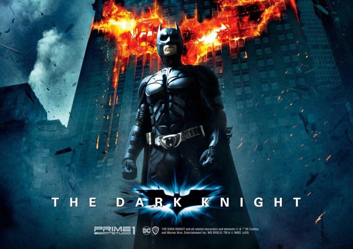 「HDミュージアムマスターライン ダークナイト バットマン」
