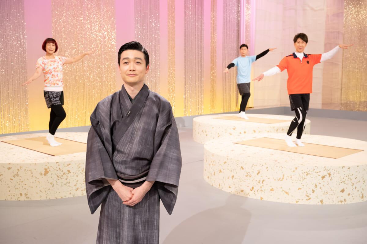 『にっぽんの芸能』「日本舞踊体操」