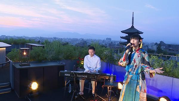 柴咲コウが京都の景観×最先端のデジタルアートによるライブ配信を敢行!見逃し配信も