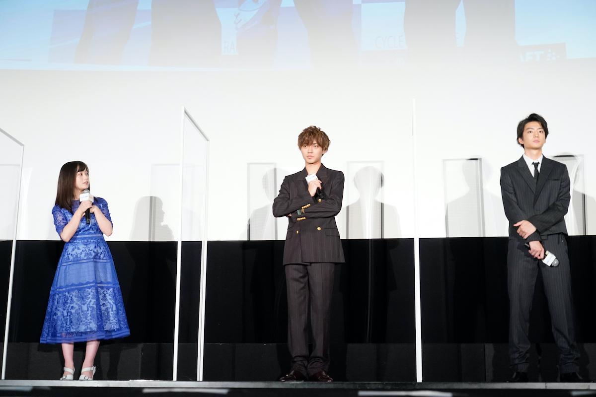 映画「弱虫ペダル」公開記念舞台あいさつ