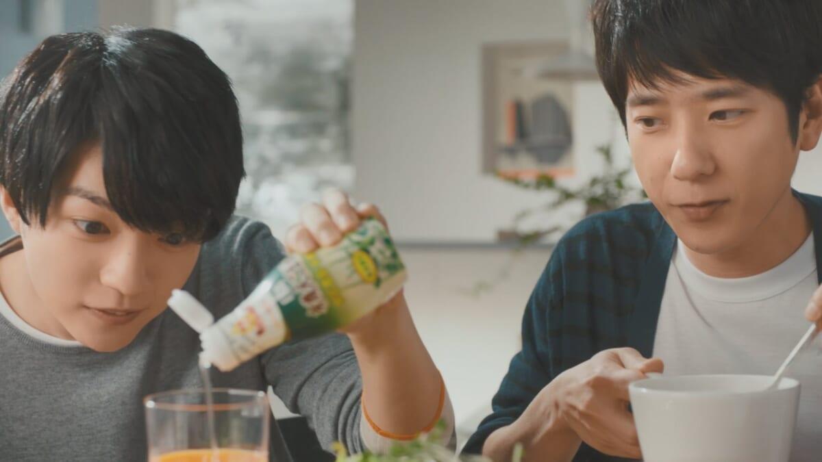 日清オイリオ「鮮度のオイルシリーズ」新CM「有機えごま油 新発売」篇