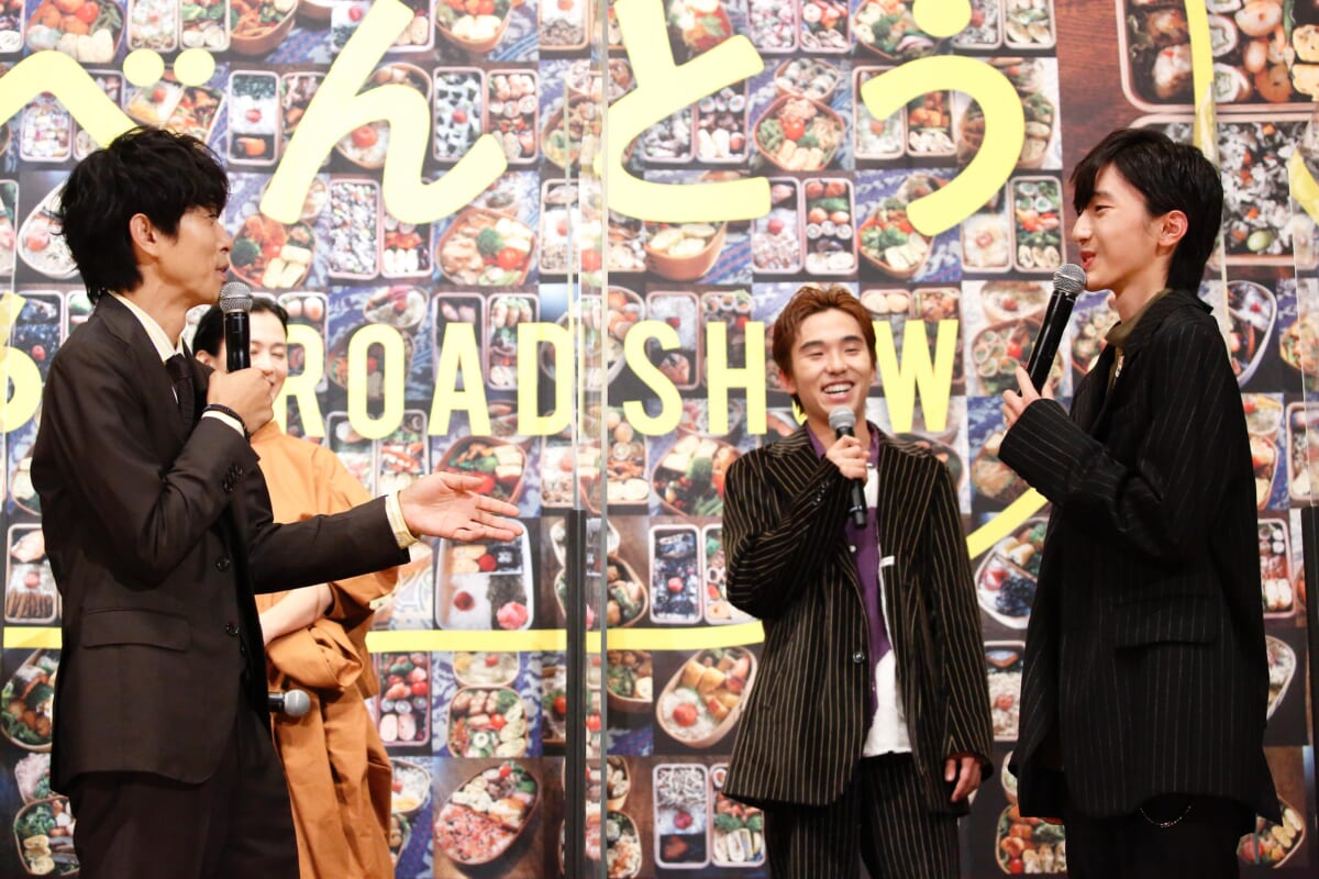 映画「461個のおべんとう」の完成披露試写会