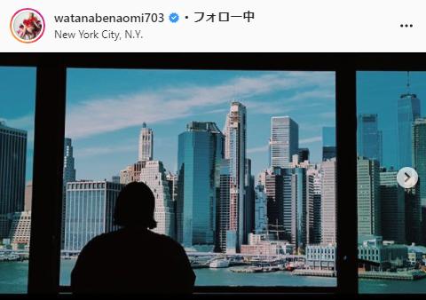 渡辺直美公式Instagram(watanabenaomi703)より
