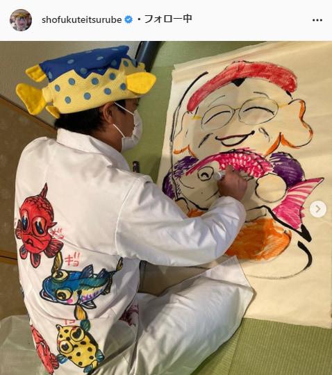 笑福亭鶴瓶公式Instagram(shofukuteitsurube)より