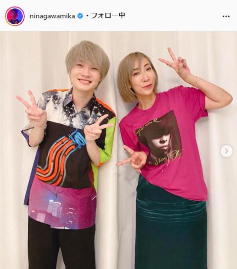 蜷川実花公式Instagram(ninagawamika)より
