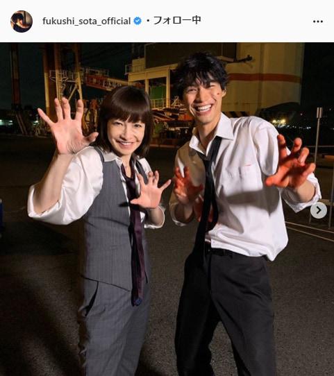 福士蒼汰公式Instagram(fukushi_sota_official)より