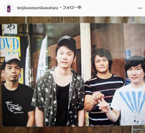 天竺鼠・川原公式Instagram(tenjikunezumikawahara)より