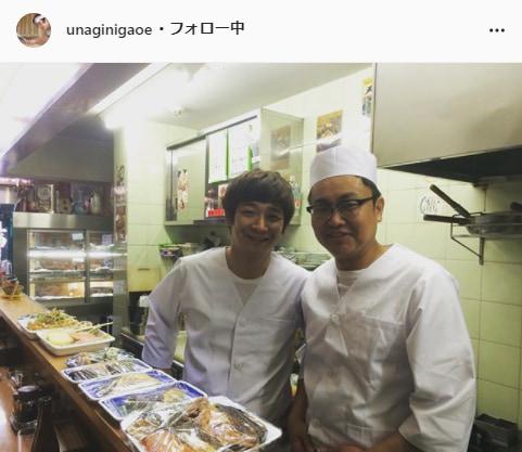 銀シャリ・鰻和弘公式Instagram(unaginigaoe)より