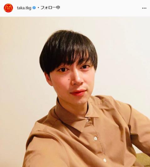 タカアンドトシ・タカ公式Instagram(taka.tkg)より
