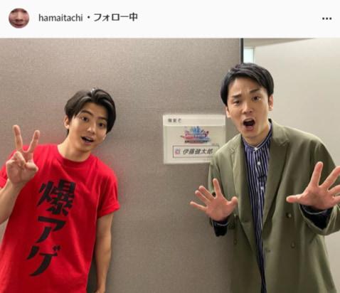 かまいたち・濱家隆一公式Instagram(hamaitachi)より