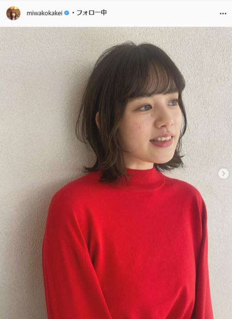 """<span class=""""title"""">筧美和子の前髪ありニューヘアーにファン歓喜「えぐい。かわいさ」「文句なし」</span>"""