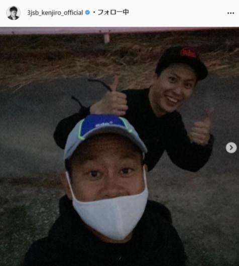 三代目J SOUL BROTHERS・山下健二郎公式Instagram(3jsb_kenjiro_official)より