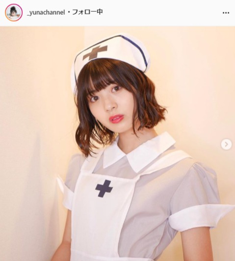 ゆな公式Instagram(_yunachannel)より