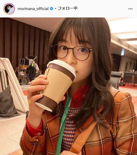 森七菜公式Instagram(morinana_official)より