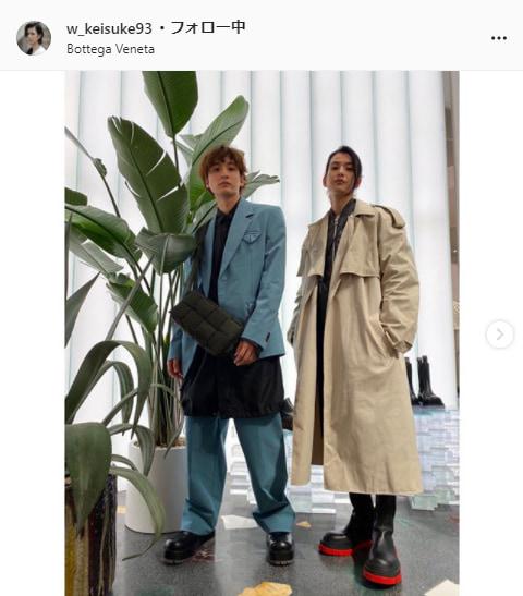 渡邊圭祐公式Instagram(w_keisuke93)より