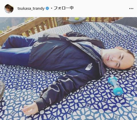 トレンディエンジェル・斎藤司公式Instagram(tsukasa_trandy)より